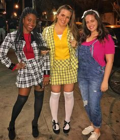 Clueless Costumes! Dionne, Cher and Tai halloween costumes clueless asif