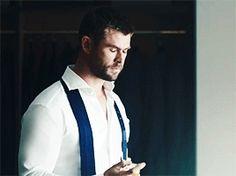 Chris Hemsworth GIFs — Chris Hemsworth for Hugo Boss