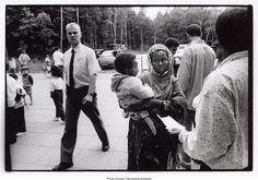 Asylum seekers in Dronten, 1995. Picture: Koen Wessing