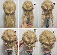 愛らしい三つ編みとエレガントなくるりんぱ、この二つをミックスすればキュートでシックな万能のヘアスタイルに。ここでは比較的簡単にできるミックススタイルと、難易度は高いけどいつかマスターしたい上級アレンジをご紹介します。