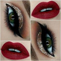 60+ Most Beautiful Gold Glitter Eye Makeup 💕 Inspirational Design For Prom 😊 - Glitter Makeup 32 💕𝕴𝖋 𝖀 𝕷𝖎𝖐𝖊, 𝕵𝖚𝖘𝖙 𝕱𝖔𝖑𝖑𝖔𝖜 𝖀𝖘!💕 #glitter 💕 #glittereyes 💕 #glittereyesmakeup 💕 #eyemakeup 💕 #makeupideas 💕 #makeup 💕 #makeuplooks 💕 #glittermakeup 💕 #makeupideas 💕 #goldglitter 💕 #glitterideas 💕 #glittereyeshadow 💕 Everythings about sexy glitter eye makeup ideas you may love ! 💕💕😘𝕾𝖊𝖝𝖞 𝖌𝖑𝖎𝖙𝖙𝖊𝖗 𝖊𝖞𝖊 𝖒𝖆𝖐𝖊𝖚𝖕 𝖎𝖉𝖊𝖆𝖘 😘💕 0̷1̷1̷5̷-1̷0̷ Prom Makeup For Brown Eyes, Glitter Eye Makeup, Gold Makeup, Eyeshadow Makeup, Lip Makeup, Glitter Face, Makeup For Prom, Gold Glitter Eyeshadow, Hazel Eye Makeup