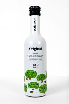 Bottle design for Melgarejo Original Picual Olive OIl by http://www.rscestudio.com/trabajo/original-picual via @The Dieline