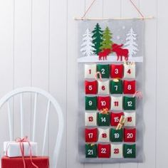 Tesco direct: Felt Advent Calendar More