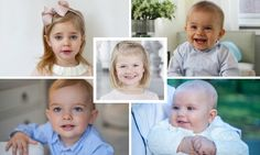 Meet the Swedish royal families youngest princes and princesses