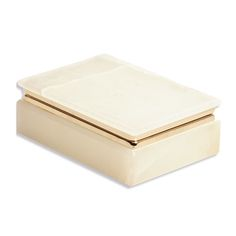 ONYX  Colour: Cream Finish: Onyx Size: Height 45mm Length 135mm Width 95mm