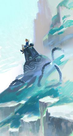 The Legend Of Zelda, Legend Of Zelda Breath, Fantasy Art Landscapes, Nerd, Link Zelda, Anime Scenery Wallpaper, Environment Concept Art, Twilight Princess, Breath Of The Wild