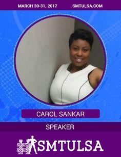 Fan favorite from the 2016 Conference, @CarolSakar is back http://smtulsa.com/speakers/