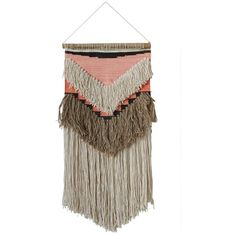 Havana Woven Wall Hanging ($55) ❤ liked on Polyvore featuring home, home decor, woven wall art and woven wall hanging