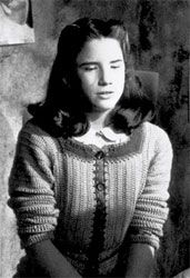 """Melissa Gilbert as Anne Frank in """"The Diary of Anne Frank"""" (1980)"""