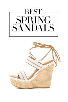 This should put some spring in your step—it's sandal season!