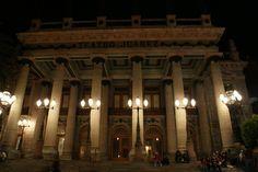 Teatro Juárez de la ciudad de Guanajuato, México