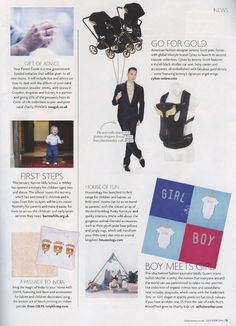 SWAG Jeweller Circle of Life Collection featured in the January/February 2016 issue of Baby Surrey.