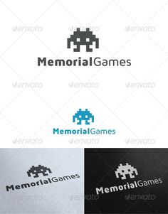 Memorial Games Logo Template — Photoshop PSD #alien #man • Available here → https://graphicriver.net/item/memorial-games-logo-template/2647436?ref=pxcr