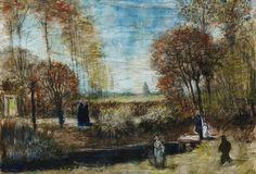 Vincent van Gogh, The garden of the vicarage at Nuenen, 1885, Het Noordbrabants Museum, 's-Hertogenbosch