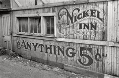 Vintage typography/signage