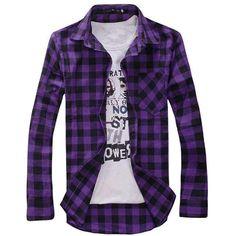 New Design Plaid Shirt (4 colors)