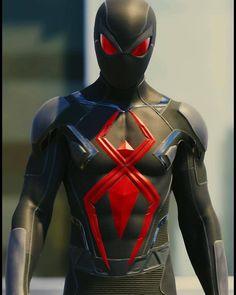 Spider-man Dark Suit(new Stealth Suit) Marvel Dc, Marvel Comic Universe, Marvel Actors, Marvel Heroes, Marvel Characters, Marvel Comics, Spider Man Ps4, Spiderman Spider, Amazing Spiderman