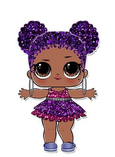 Risultato immagini per lol surprise purple queen Meet your favorite LOL characters, take quizzes, watch videos, check out photos, and more!Collectible Dolls with Mix and Match Accessories Lol Doll Cake, Chibi Kawaii, Doll Drawing, Doll Party, Lol Dolls, Diy For Kids, Surprise Images, Lol Images, Diy Birthday