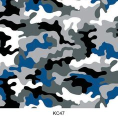 Hydro dipping film camouflage pattern KC47