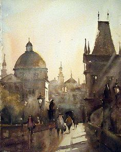 Morning in Prague, by Dusan Djukaric#Repin By:Pinterest++ for iPad#