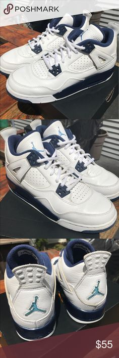 Jordan 4 Columbias Jordan 4 Columbias Price is negotiable! Air Jordan Shoes Sneakers