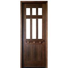 DSA Doors, Model: Tuscany Glencoe E-01