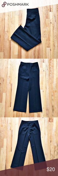 NWT Ann Taylor Black Pants NWT Ann Taylor Petite black slacks. Straight leg. 88% polyester, 12% spandex, dry clean. Length approximately 29in (in-seam), rise approximately 11in. Ann Taylor Pants Straight Leg