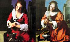 "Michael Thompson, ""Julianne Moore as Jan Vermeer's 'Saint Praxidis'"", Interview Magazine, 2002"