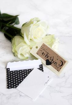 envelope black & dots...the book of happiness