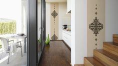 "Moderne Tapete, Stickerei aus Stoff.Kollektion ""Wall Fashion"",  Architects Paper Designpanel 306172"