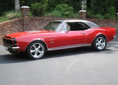 Here is another 1967 Camaro!
