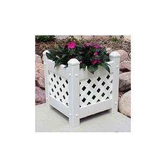 Buy Dura Trel Inc Rectangular Planter Box White At Staples Low