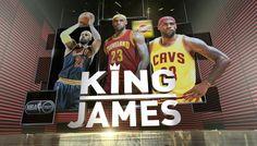 King James Time On TNT!!!!!!  #lebron #lebronjames #nike #kingjames #cavs #cleveland #cavaliers #nba