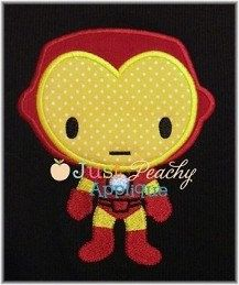 Iron Man IronMan Hero Machine Embroidery Design Plus 1 Free Design of Your Choice Buy 1, Get 1 Free NEW Instant Downloads