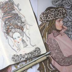 Самое привлекательное в рекламе - это лицо человека. Соответственно  красивая девушка или забавная иллюстрация с девушкой еще сильнее привлекает внимание. Так что если хотите привлечь то используйте чье нибудь лицо. Лучше привлекательное)      #sketching #sketch #drawing #collage #face #scetchoftheday #scetchbook #artline #drawingoftheday #character #coronal #artdesign # #moleskin #illustration #pattern #artist #color #elislisart #ilustratedbook #скетч #скетчбук #скетчинг #набросок… Sketches, Princess Zelda, Drawings, Zentangle, Artist, Fictional Characters, Illustrations, Zentangle Patterns, Artists