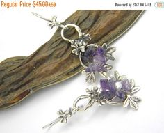 Sale Amethyst earrings sterling silverlong dangling earrings flowers and leaves handmade jewelry amethyst silver earrings gift for her flower earrings sterling silver long earrings handmade jewelry romantic earrings Amethyst earrings dangling earrings earrings flowers silver earrings gift for her amethyst botanical jewelry flower 38.25 USD #goriani
