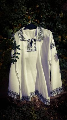 Camasa barbat tesuta traditional Embroidery Designs, Fashion Outfits, Long Sleeve, Sleeves, Clothes, Women, Fashion Suits, Clothing, Full Sleeves