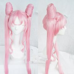 [Sailor Moon] Chibi Moon Black Lady Long Pink Wig sold by Cospicky. Shop more products from Cospicky on Storenvy, the home of independent small businesses all over the world. Anime Braids, Anime Wigs, Anime Hair, Cosplay Hair, Lolita Cosplay, Cosplay Wigs, Sailor Chibi Moon, Island Hair, Kawaii Wigs