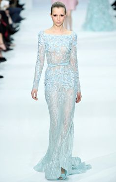 Elie Saab | Spring 2012 Couture Blair's Wedding dress!! I love this.