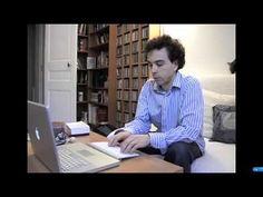 Damien Luce en interview pour enviedecrire.com