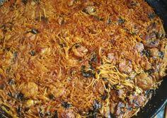 Pasta, Pulled Pork, Grains, Rice, Ethnic Recipes, Food, Stir Fry, Meals, Legumes