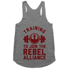 Training To Join The Rebel Alliance | Activate Apparel | Workout Gear & Accessories
