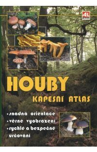 Houby - Kapesní atlas #alpress #hobby #houby #knihy #atlas