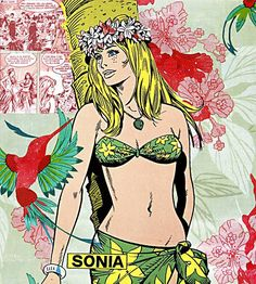 """SONIA"" - Diabolik Pop Ikon serie  by Cristina Stifanic"