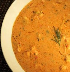 The salmon bisque, adapted from a dish at Robin's Restaurant in Cambria, can be made in less than an hour.