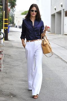 Pictured in Los Angeles, Alessandra Ambrosio's street style is flawlessly chic. | Photo Credit: StarTraks Photo