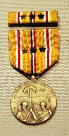 US World War II: 1941-1945 Asia/Pacific Campaign Service Medal