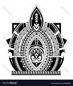 Maori style tattoo design for sleeve area. Download a Free Preview or High Quality Adobe Illustrator Ai, EPS, PDF and High Resolution JPEG versions.