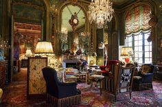 Inside Countess Isabelle d'Ornano's Eclectic Paris Apartment - TownandCountrymag.com