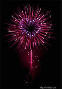 FIREWORKS~heart fireworks - I'm thinking of someone right now!